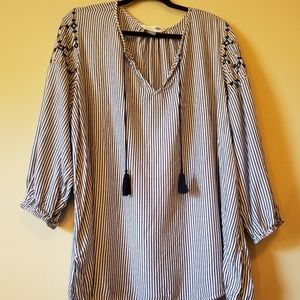 Old Navy Tunic Shirt with Tassels